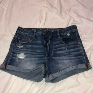 Never worn size 12 American Eagle stretch shorts